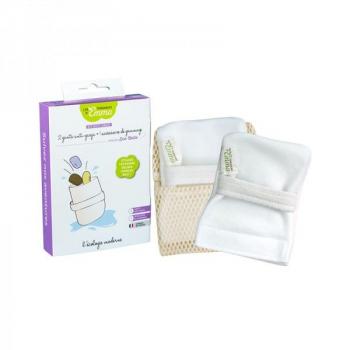 Kit anti-gaspi , 2 gants à savon solide