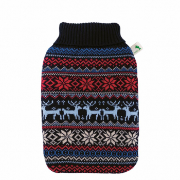 Bouillotte ECO housse tricotée Norvégien