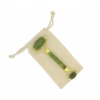 Masseur visage en pierre de jade vert