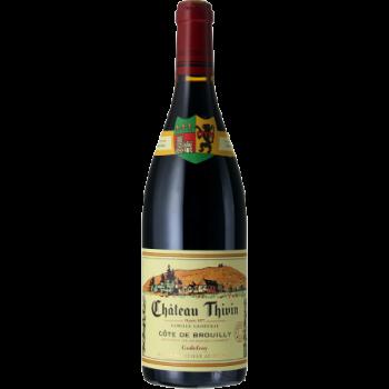 Château thivin cote de brouilly les 7 vignes rouge x 3 bouteilles 2018 bio