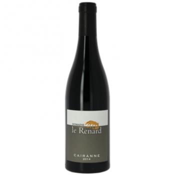 Domaine valand / renard cairanne   rouge x 3 bouteilles 2015 bio