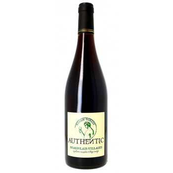 Fabien forest beaujolais villages (conversion bio) rouge x 3 bouteilles 2018 bio