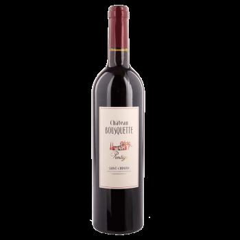 Château bousquette saint chinian prestige rouge x 3 bouteilles 2014 bio