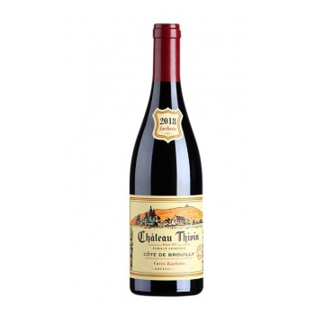 Château thivin cote de brouilly zaccharie rouge x 3 bouteilles 2018 bio