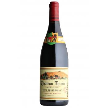 Château thivin cote de brouilly les griottes rouge x 3 bouteilles 2018 bio