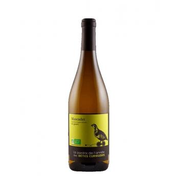 """Domaine mourat muscadet """"la perdrix de l'annee"""" blanc x 3 bouteilles 2019 bio"""