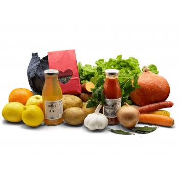 Panier de saison bio - Fruits, Légumes et Herbes aromatiques - 10kg