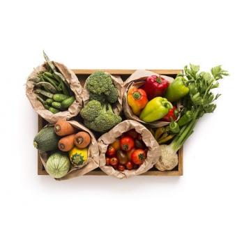 Panier de 7 fruits et aromates  BIO de saison - 3,5kg