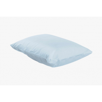 Taie d'oreiller percale coton 71 fils 50/70 blanc