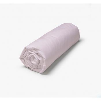 Drap Housse percale coton 71 fils 140/200 pétale de rose