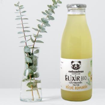 Elixir Citronnade Pêche Romarin COLUMBUS CAFE