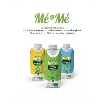 3 BOISSONS Mé-Mé Energisante, Hydratante, Endurante