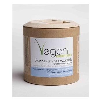 Pack 120 gélules Calcium / 3 AA -Argalys Vegan essentiels