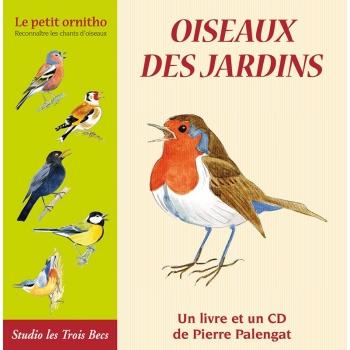 Le livre CD Oiseaux des jardins
