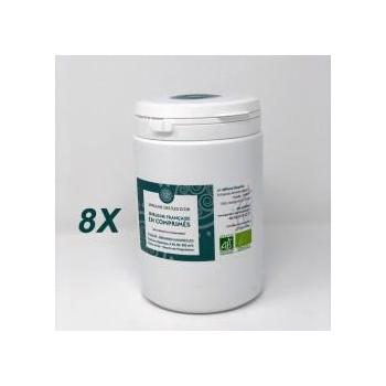 4 kg de Spiruline BIO en comprimés