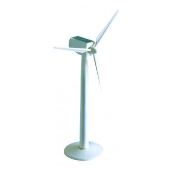 Maquette d'une éolienne en plastique