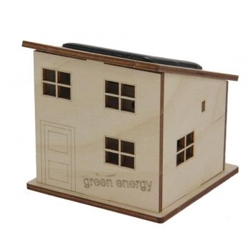 Maquette Maison solaire en bois