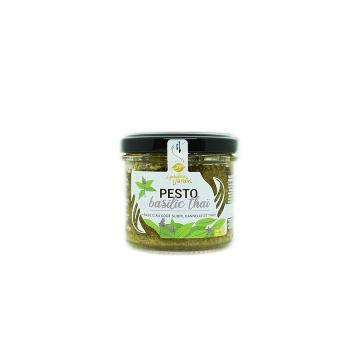 Pesto Basilic Thaï Bio 90g Le Fabuleux Jardin