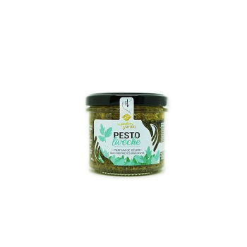 Pesto Livèche Bio 90g Le Fabuleux Jardin