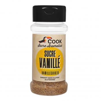 Sucre de canne vanillé 65g bio - Cook