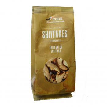 Shiitakes déshydratés 20g bio - Cook