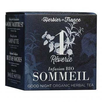Infusion Rêverie - Sommeil - 15 mousselines bio - L'Herbier de France