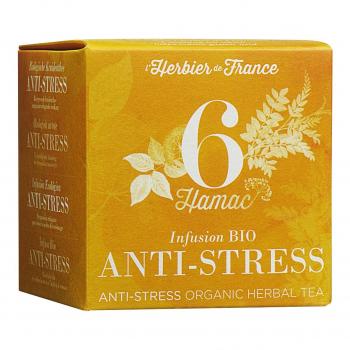 Infusion Hamac - Anti stress - 15 mousselines bio - L'Herbier de France