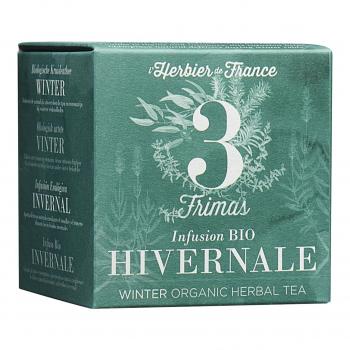 Infusion Frimas - Hivernale - 15 mousselines bio - L'Herbier de France