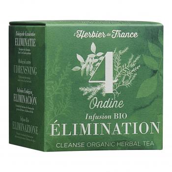 Infusion Ondine - Elimination - 15 mousselines bio - L'Herbier de France