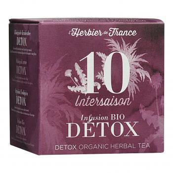 Infusion Intersaison - Détox -15 mousselines bio - L'Herbier de France