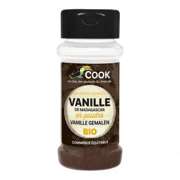 Vanille Bourbon en poudre bio 20g bio - Cook
