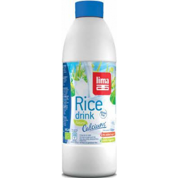 Rice drink natural calcium 1l (bouteille) LIMA
