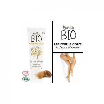 Lait corporel à l'huile d'argan Bio 100ml