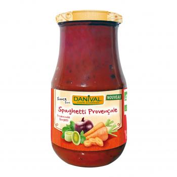 Sauce spaghetti provençale 430g bio - Danival