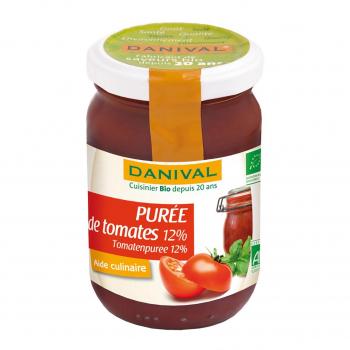 Purée de tomates 12% 200g bio - Danival