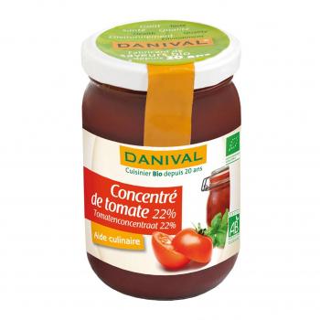 Concentré de tomates 22% 200g bio - Danival