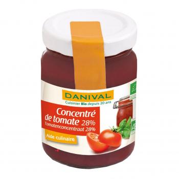 Concentré de tomates 28% 100g bio - Danival