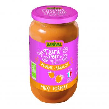 Dani'pom abricot 1.05kg bio - Danival