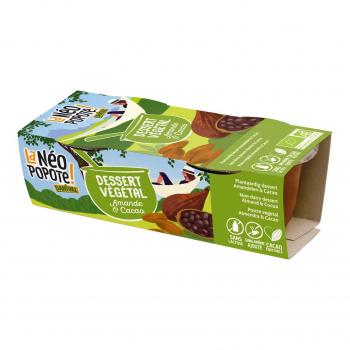 Dessert végétal amande-cacao 2x100g bio - Danival
