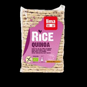 Lima - Galettes Fines De Riz Quinoa 130g