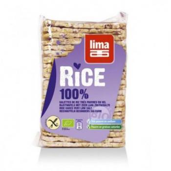 Lima - Galettes Fines De Riz Sans Sel 130g