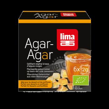 LIMA - AGAR-AGAR (DOSES) 6 X 2G