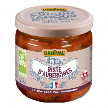 Riste d'aubergine 340g bio - Danival