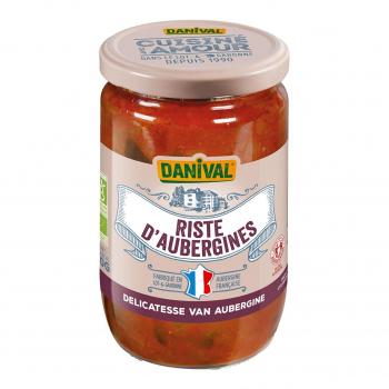 Riste d'aubergine 670g bio - Danival