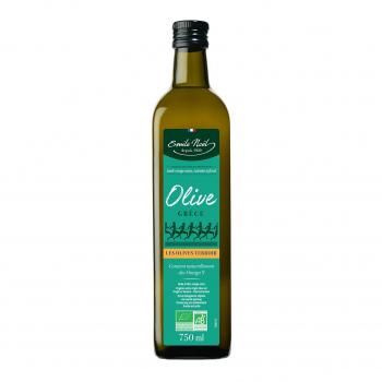Huile d'olive vierge extra de Grèce 75cl bio - Emile Noël