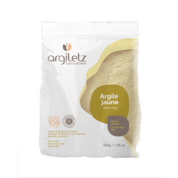 ARGILETZ - Argile Jaune Ultra-ventilée en boite de 200 gr
