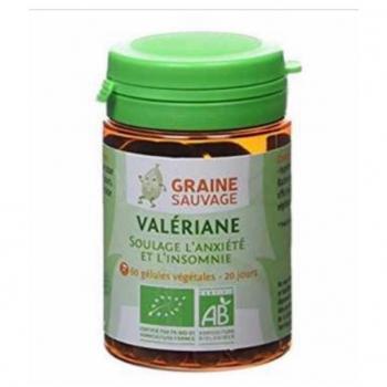 Valériane BIO - Graine Sauvage - 60 Gélules