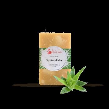 Savon bio pour peaux sèches à fragiles - Nectar d'aloé