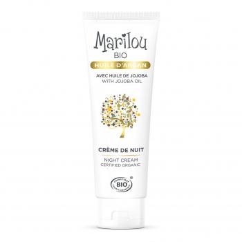 Crème de nuit à l'Huile d'Argan 50 ml bio - Marilou Bio