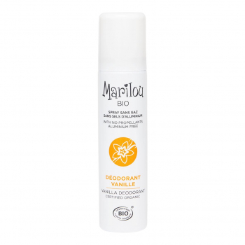 Déodorant senteur Vanille 75 ml bio - Marilou Bio